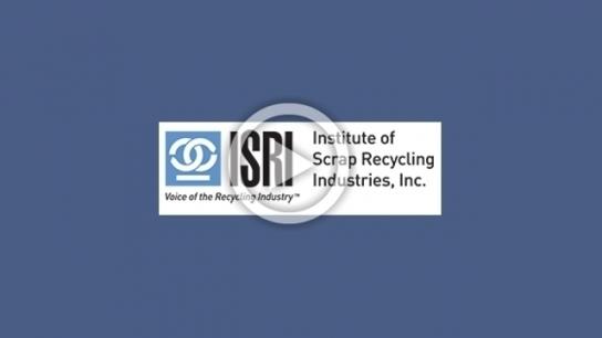 ISRI Spotlight on Plastics & Briefing on Basel Convention