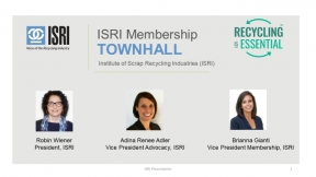 Making the Most Out of Your Membership: An ISRI Membership Virtual Town Hall