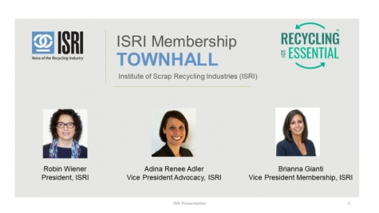 Making the Most Out of Your Membership: An ISRI...