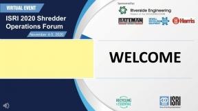 ISRI 2020 Shredder Operations Forum Day Two