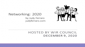 Networking 2020: Hosted by ISRI Women in Recycling Council