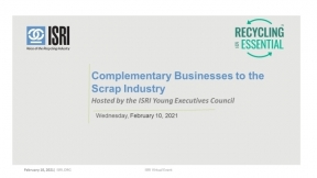 ISRI Webinar: Complimentary Businesses to the Scrap Industry
