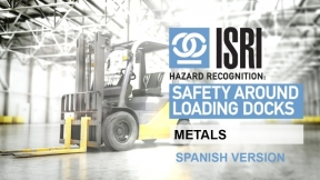 Hazard Recognition around Loading Dock Areas: Metals (Spanish)
