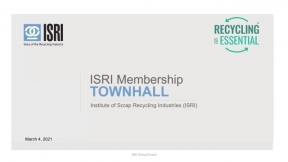 ISRI Webinar: What's On Your Mind? An ISRI Members' Town Hall