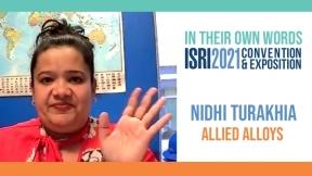 ISRI2021 - Nidhi Turakhia