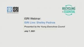 ISRI Live - Shelley Padnos