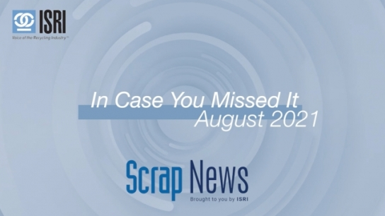 In Case You Missed It - August Wrap Up