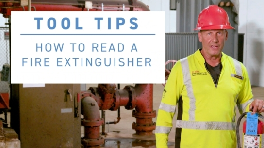 ISRI Tool Tip - How to Read a Fire Extinguisher