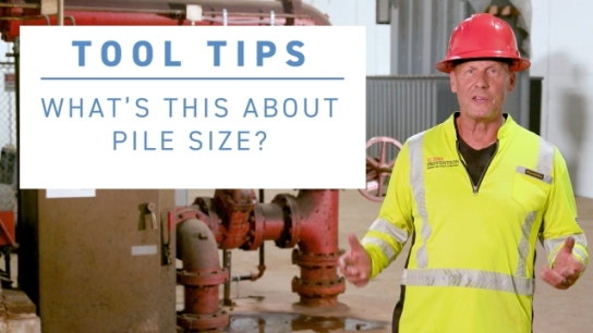 ISRI Tool Tip - What's This About Pile Size?