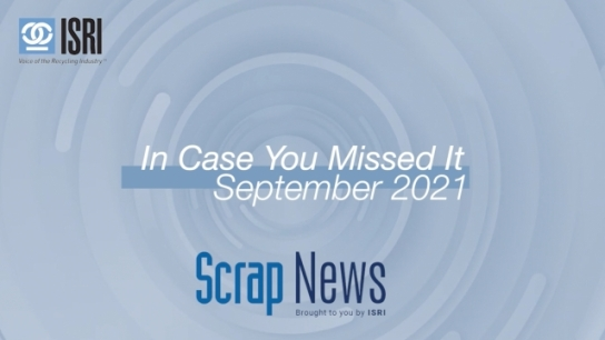 In Case You Missed It - September Wrap Up