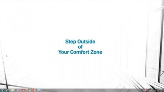 Stepping Up and Out of Your Comfort Zone