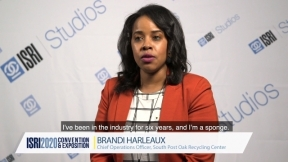 Why Attend the ISRI Convention & Exhibition - Brandi Harleaux