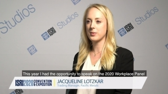 Why Attend the ISRI Convention & Exhibition - Jacqueline Lotzkar