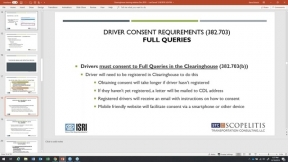 Demystifying the CDL Drug & Alcohol Clearinghouse
